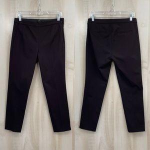 J. Crew Martie Pants Chocolate Brown Size 4